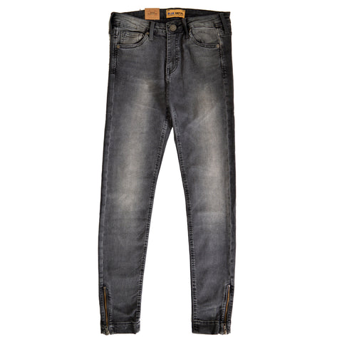 Ladies Denim & Co. Stretchable Slim Fit 'B Grade' Jeans in Grey