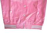 OP Soft Polyester Pink Buttoned Jacket