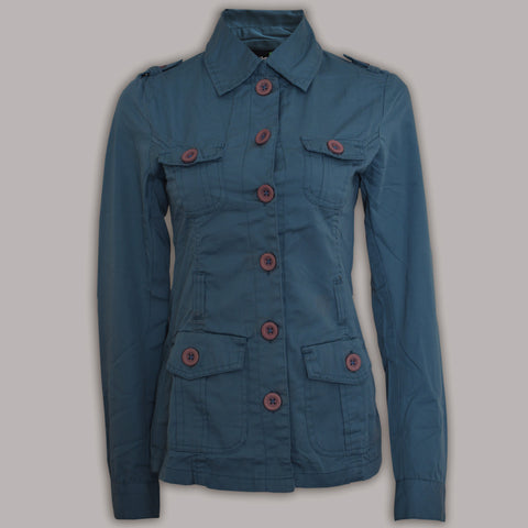 Ladies Original Green Source Cotton Coats in Dark Zink