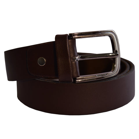Men's OP Brown Leather Belt 32