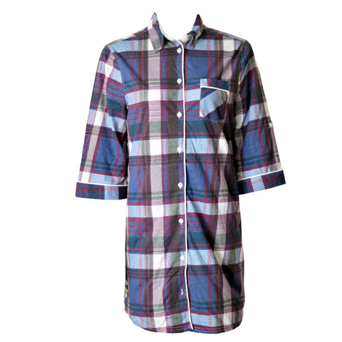 H.I.S Check Ladies Sleeping Top
