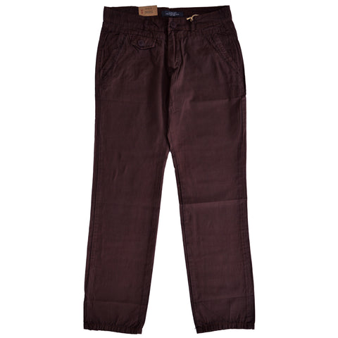 Ladies Original L.O.G.G. Cotton Pent by H&M in Brown