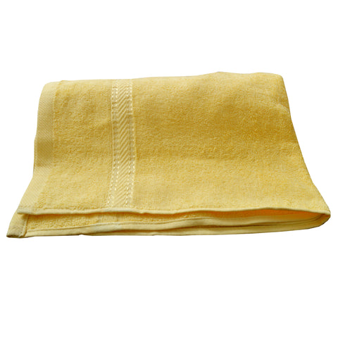 HC Yellow Bath Towel