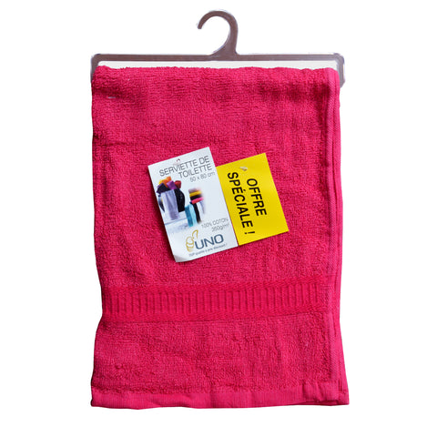 HC's Premium Shocking Pink Hand Towel