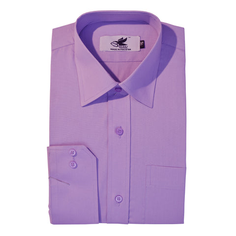 Men's Osprey Premium Dress Shirt in Light Purple 06