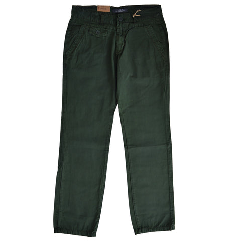 Ladies Original L.O.G.G. Cotton Pent by H&M in Green