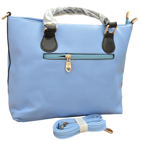 Women Original HW Leather Hand Bag in Sky Blue