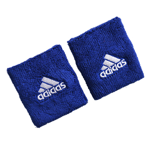 Adidas Unisex Sports Wristbands in Blue