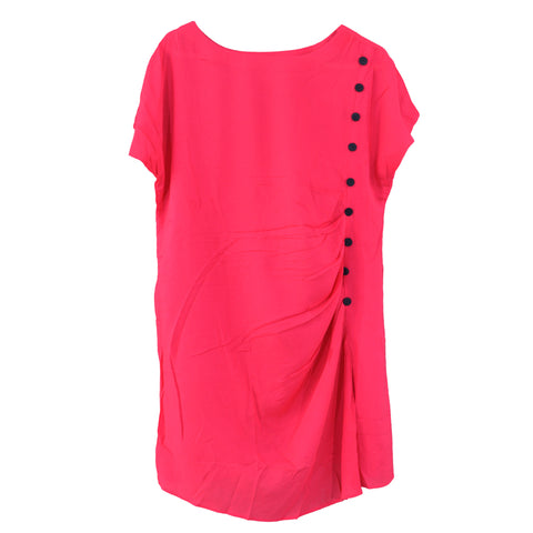 Ladies Original Pinar Button Cotton Lawn Top