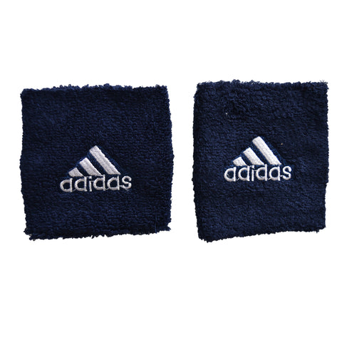 Unisex Adidas Sports Wristbands in Navy