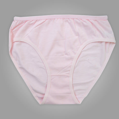 Ladies OP Soft Cotton Underwear in Plain Pink