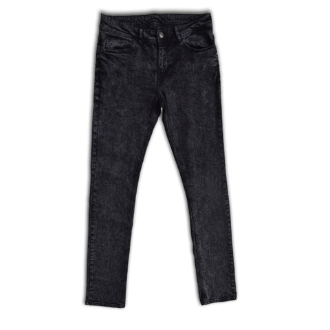 Men's Skin Fit Stretchable Coal Denim