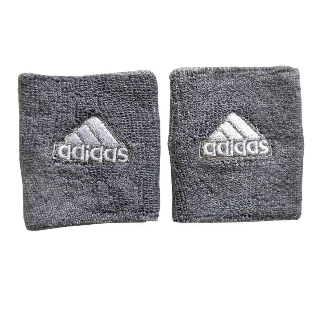 Unisex Adidas Sports Wristbands in Grey