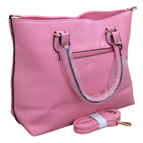 Women Original HW Leather Hand Bag in Baby Pink