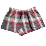 H.I.S Black Red Check Ladies Sleeping Suit