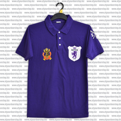 Original TMPC Cut Label Datch Purple 'B Grade' Polo Shirt