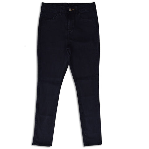 Men's Denim & Co. Black Soft Stretchable Slim Fit Denim