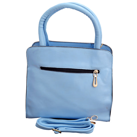 Women Original HW Leather Hand Bag in Blue