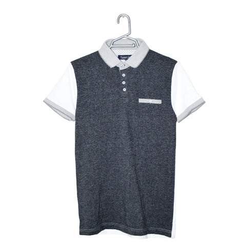 Men's original Twisted Soul Contrast Sleeve 'B Grade' Polo