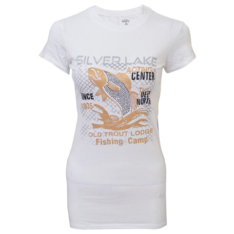 Ladies Original's Vaniy Silver Lake 'B Grade' T-Shirt White