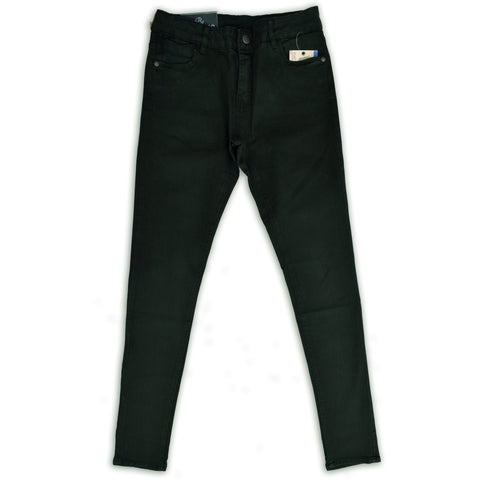 Denim & Co. Elegant Olive Green Slim Fit Stretchable Pant