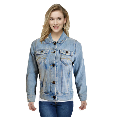Ladies Original Aeropostale Pure Denim Jacket