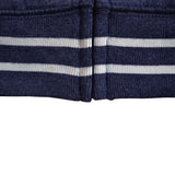 League's Original Blue White Stripe Hoodie