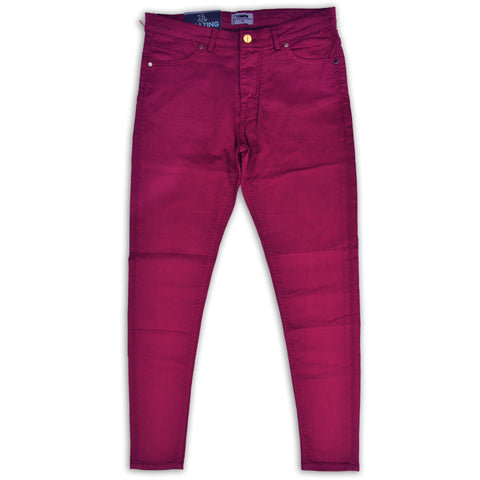 Ladies Original UMM Maroon Stretchable Cotton Pent
