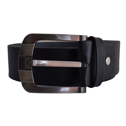 Men's OP Black Leather Belt 5