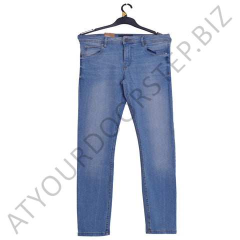 Men's FSBN Soft Stretchable Light Blue Jeans