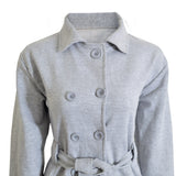 Osprey Premium's Ladies Fleece Coat in Grey