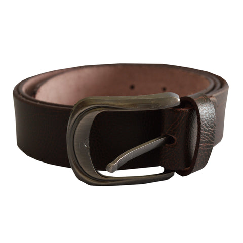 Men's OP Dark Brown Leather Belt 26
