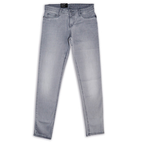 Ladies Original Splash Skin Fit Stretchable Grey Denim