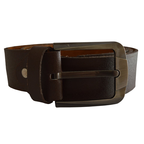Men's OP Brown Leather Belt 23