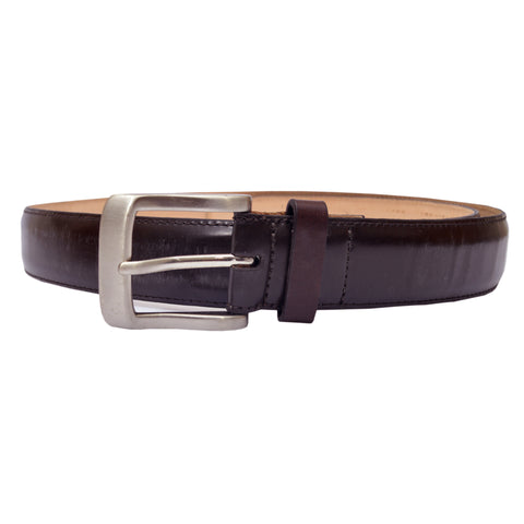 Ladies Original OP Brown Leather Belt