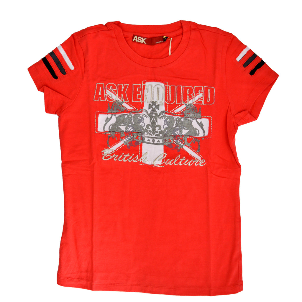 ASK Original EMB British Flag Tee