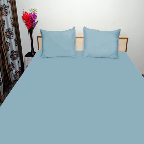 Osprey Premium Plain Double Bed Sheet
