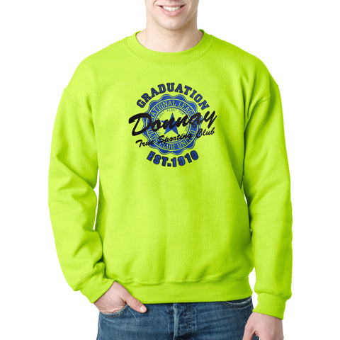 Donnay's Original Soft Fleece Sweat Shirt in Parrot Green