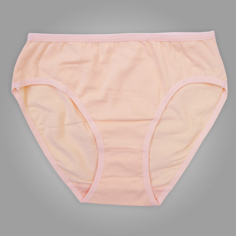 Ladies OP Soft Cotton Underwear in Light Peach