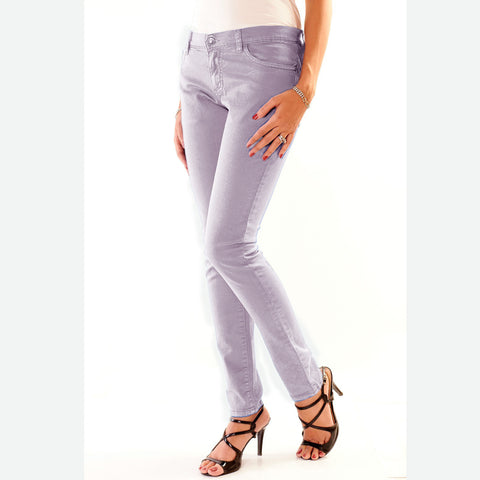 Love Byte's Light Purple Jegging for ladies