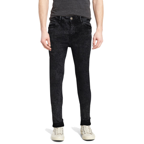 Men's Original Zara Skin Fit Stretchable Coal Denim
