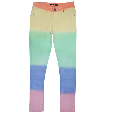 Lady's Love Bytes Multi Color Jegging