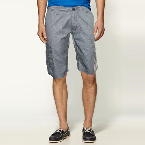 Mens Original Denim & Co. Cotton Shorts in Dark Grey
