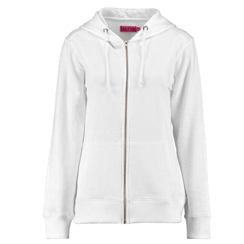 Ladies Original Maya Zipper Hoodie by Boohoo