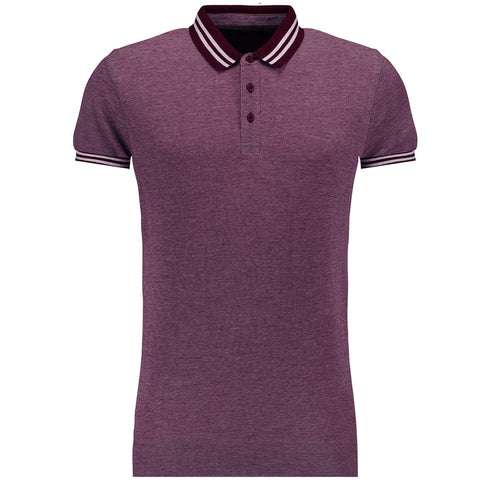 Original Twisted Soul Burgundy Plain 'B Grade' Polo Shirt