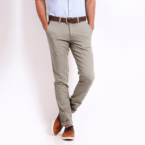 PREMIUM QUALITY 1951 SOBER SLIM FIT CHINO IN MUD COLOUR