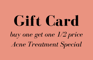 BOGO 1/2 Price Acne Treatment Gift Cards