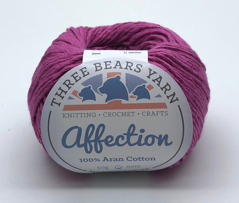 Crocus 100% Cotton - 50g Aran (Worsted)