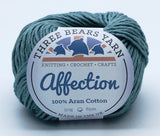 Duck Egg 100% Cotton - 50g Aran (Worsted)