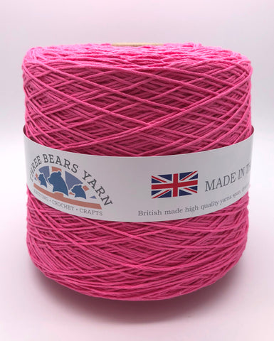 Aran Flamingo Pink Cone 100% Cotton